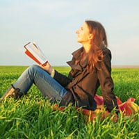Woman Reading Christian Fiction Literary Agents